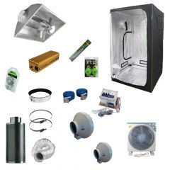 1.2 x 1.2M 600w 400v Aircooled Light Kit Tent