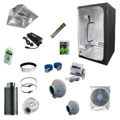 1.2 x 1.2M 600w Aircooled Light Kit Tent