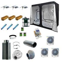 2.4 x 1.2M 3x 600w 400v Light Kit Tent