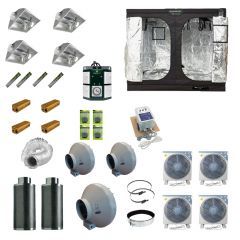 2.4 x 2.4M 4x 600w 400v Air Cooled Light Kit Tent