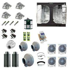 2.4 x 2.4M 4x 600w Air Cooled Light Kit Tent