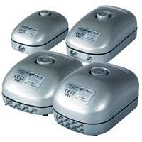 Hailea ACO Air Pumps adjustable output
