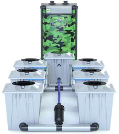 Alien RDWC 6 Pot 20L Pro Silver Series