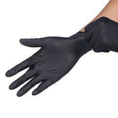 Black Disposable Nitrile Gloves 100pcs