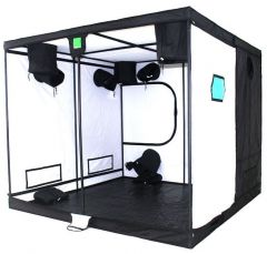 BudBox Pro Titan Plus White 240 x 240 x 200cm