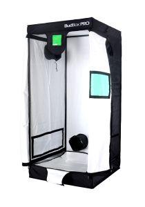 BudBox Pro Intermediate White 75 x 75 x 160cm