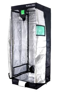BudBox Pro Medium Silver 75 x 75 x 200cm