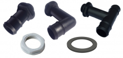 25mm Pro Fittings With Nut & Washer