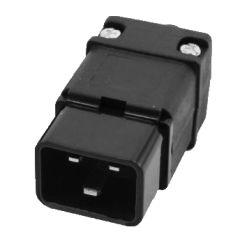 IEC C20 Socket  Male