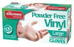 Powder Free Vinyl Disposable Gloves