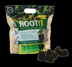 Rootit Rooting Sponges x 50 Refill Bag