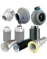 5 Inch Fan, Filter, Ducting Kit