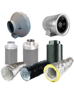 12 Inch Fan, Filter, Ducting Kit