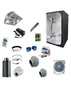 1.2 x 1.2M 600w Aircooled Light Kit Tent