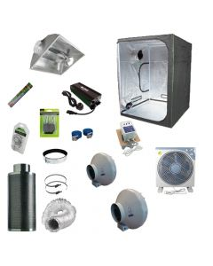 1.5 x 1.5M 600w Aircooled Light Kit Tent