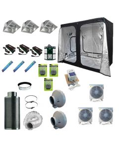 2.4 x 1.2M 3x 600w Air Cooled  Light Kit Tent
