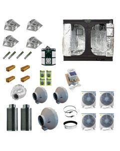 2.4 x 2.4M 4x 600w 400v Air Cooled Light Kit Tent