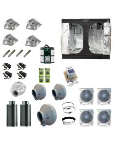 2.4 x 2.4M 4x 600w Air Cooled Light Kit Tent