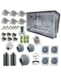 3M 6 x 600w AirCooled  Light Tent Kit