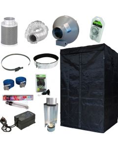 600w Air Cooled Light With a 1.2m Tent Kit