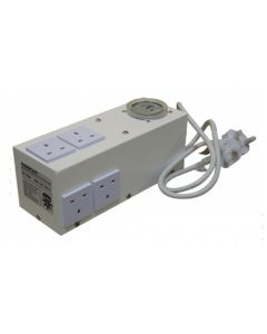 Contactor 26A Unit, 6 socket with timer