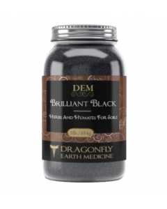Dragonfly Earth Medicine Brilliant Black 454g