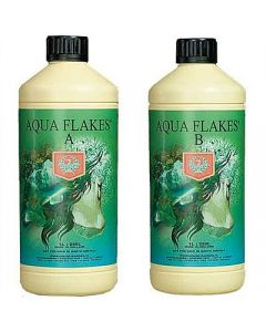 House and Garden Aqua Flakes Bloom A&B