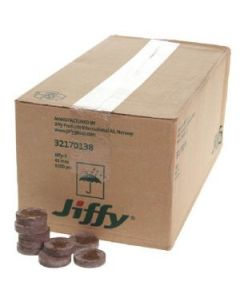 Jiffy 7C 30mm Coco Coir Plug Box of 1155