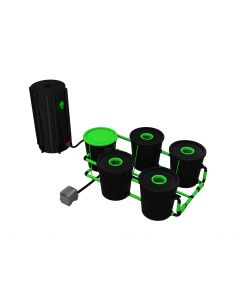 Alien Pot System 4 Pot RDWC XL 30L