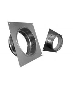 Wall flanges Square Plate